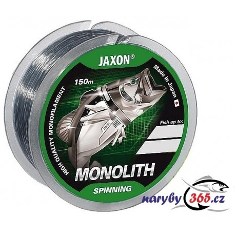 NOVINKA - vlasec JAXON MONOLITH Spinning 0,16mm/150m