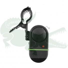 indikátor záběru na prutu