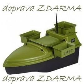 Zakrmovací loď DEVICT Tanker Triple žlutá
