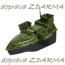 Zakrmovací loď DEVICT Tanker Triple maskáč