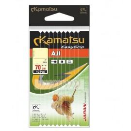 návazce KAMATSU 70cm EASY GRIP gold 0,10mm