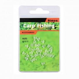 stopper na háček - průhledný/čirý CARP FISHING L