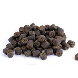 BLACK HALIBUT + KREV - pelety s dírkou 16mm/1 kg
