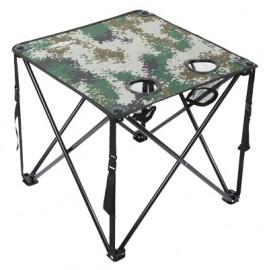 MIKADO skládací stolek  KAMUFLAGE 49 x 49 x 45 cm