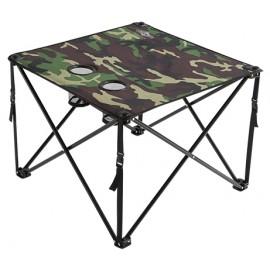 MIKADO skládací stolek  KAMUFLAGE IS12-16Z-CA