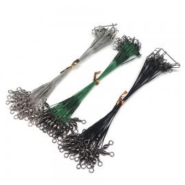 CFP ocelové lanko stříbrné, zelené, černé