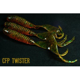 CFP FLEX GRUB powerbait twister NATURAL 70mm
