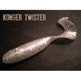 KONGER twister WHITE SILVER 45mm 10ks